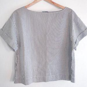 Polo Ralph Lauren Women's Striped Blouse Size M